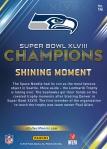 Panini America Seattle Seahawks Super Bowl XLVIII Champions (14a)