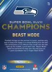 Panini America Seattle Seahawks Super Bowl XLVIII Champions (17a)