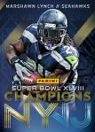 Panini America Seattle Seahawks Super Bowl XLVIII Champions (2)