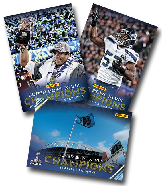 Panini America Seattle Seahawks Super Bowl XLVIII Champions Main