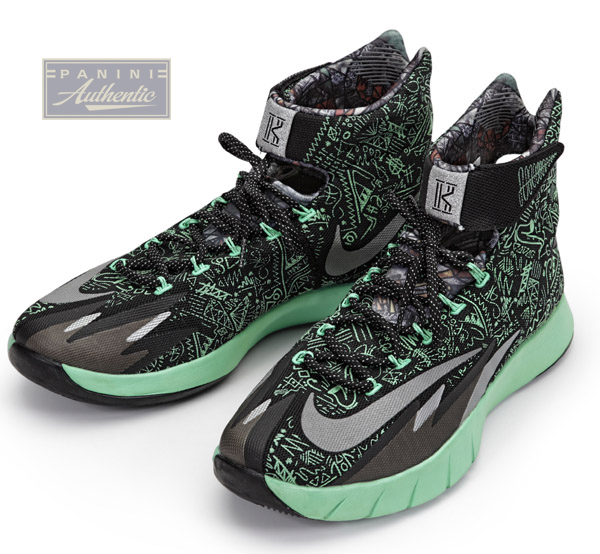 ... Game-Worn A... Kyrie Irving All Star Game Mvp