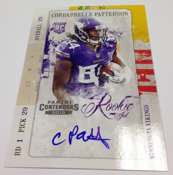 Patterson Rookie Ink