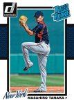 2014 Donruss Baseball Tanaka