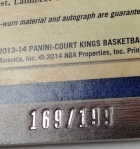 Panini America 2013-14 Court Kings Basketball QC (108)