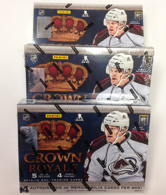 Panini America 2013-14 Crown Royale Hockey Teaser (1)