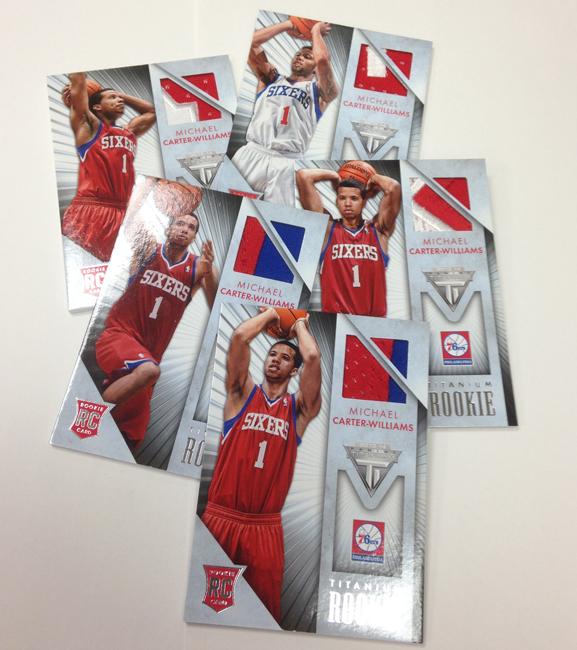 Panini America 2013-14 Titanium Basketball Retail Rookies (6)