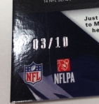 Panini America 2013 Spectra Football Teaser Box Three (22)