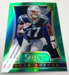 Panini America 2014 Industry Summit Select Football Green Prizms (20)