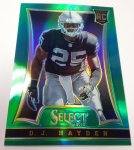 Panini America 2014 Industry Summit Select Football Green Prizms (23)