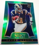 Panini America 2014 Industry Summit Select Football Green Prizms (28)