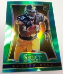 Panini America 2014 Industry Summit Select Football Green Prizms (32)