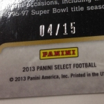 Panini America 2014 Industry Summit Select Football Green Prizms (47)
