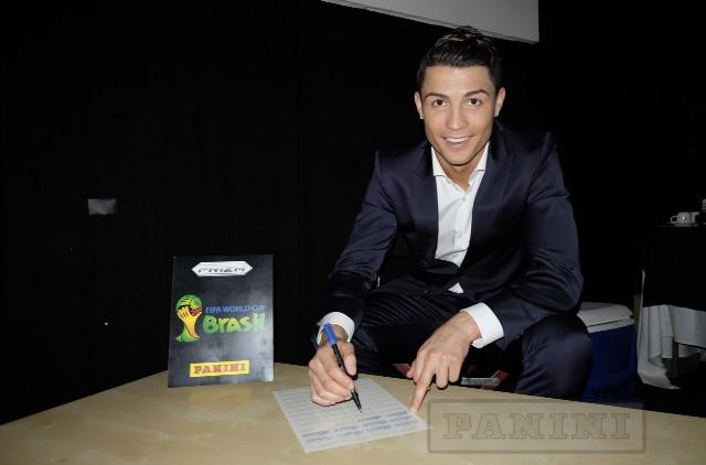 Panini Prizm FIFA World Cup Football - Cristiano Ronaldo