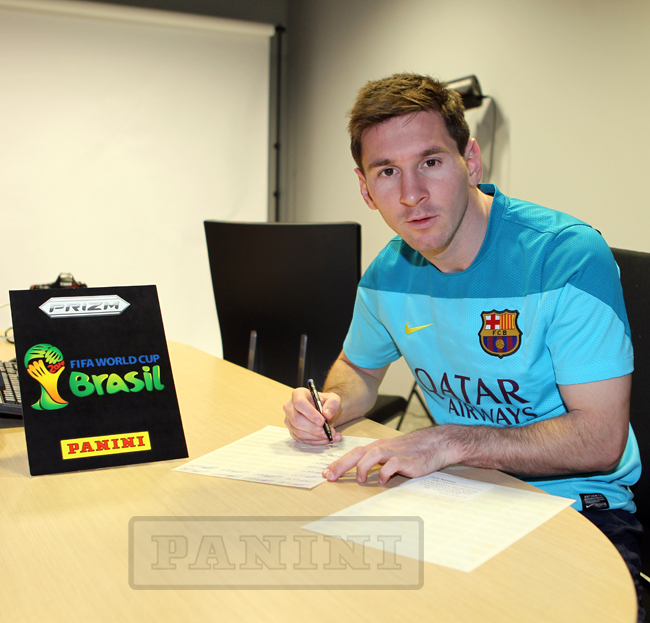 Panini Prizm FIFA World Cup Football - Lionel Messi