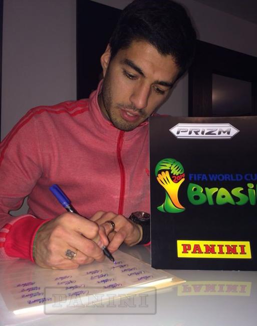 Panini Prizm FIFA World Cup Football - Luis Suarez