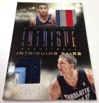 Panini America 2013-14 Intrigue Basketball Prime Mem (63)