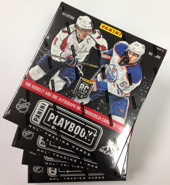 Panini America 2013-14 Playbook Hockey Tease Box One (12)