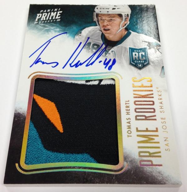 Panini America 2013-14 Prime Hockey Autograph Peek (9)