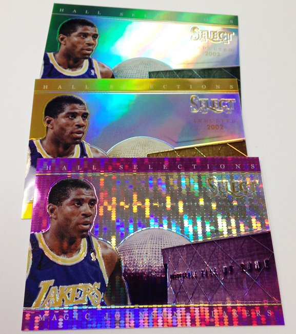 Magic Johnson 2013-14 Panini Select Prizm Rainbow
