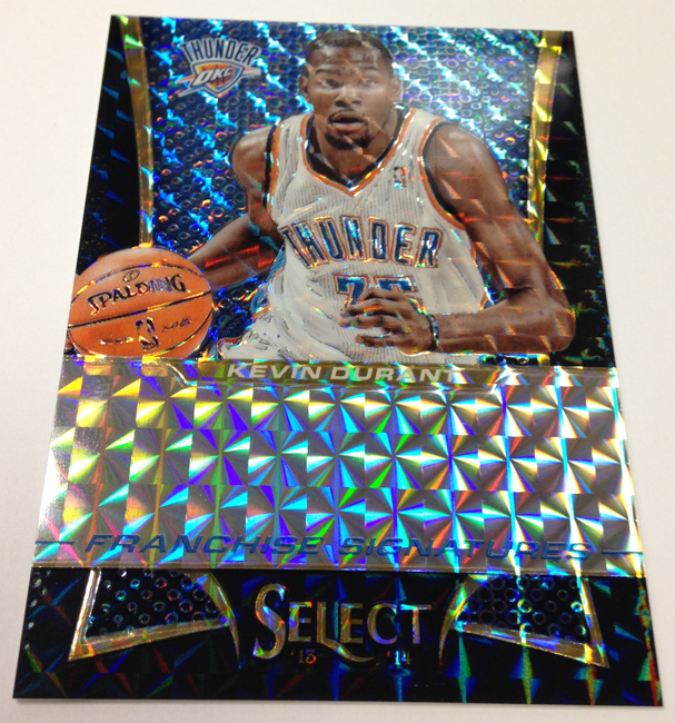 Kevin Durant 2013-14 Panini Select Prizm one of one