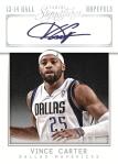 Panini America 2013-14 Signatures Basketball Vince
