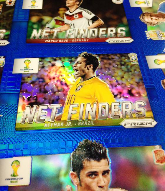 Panini America 2014 FIFA World Cup Brazil Prizm Blues (1)