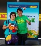 Panini America 2014 FIFA World Cup Mobile Tour 33