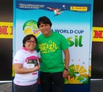 Panini America 2014 FIFA World Cup Mobile Tour 37