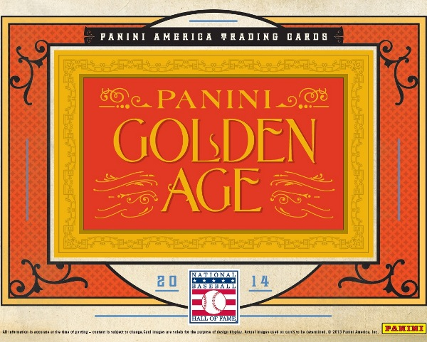 Panini America 2014 Golden Age Baseball Main