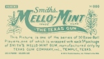 Panini America 2014 Golden Age Baseball Mello Mint Back