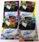 Panini America 2014 Prizm Baseball Auto Peek (16)