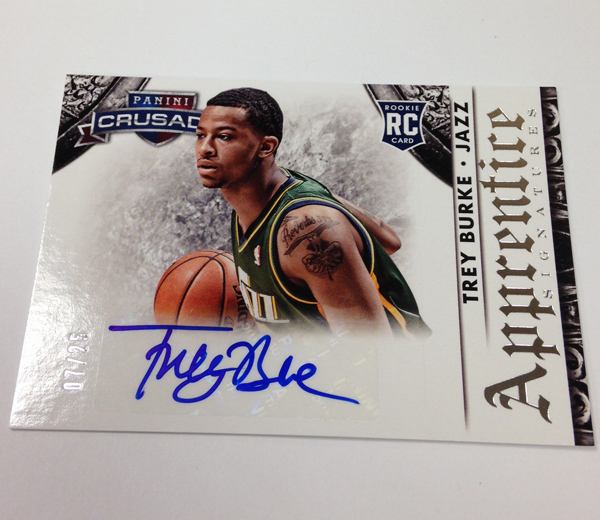 2013/14 Panini Crusade Basketball Trey Burke Rc Auto