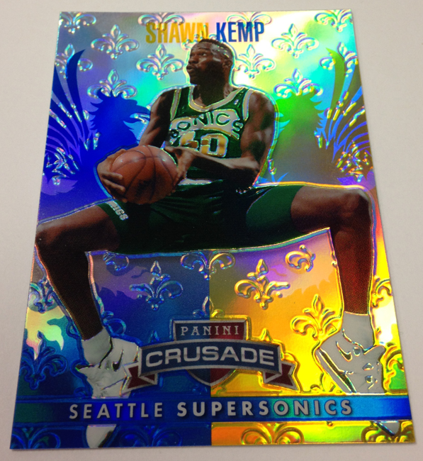 2013/14 Panini Crusade Basketball Shawn Kemp Prizm