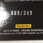 Panini America 2013-14 Crusade Basketball QC (55)