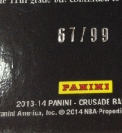 Panini America 2013-14 Crusade Basketball QC (62)