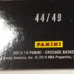 Panini America 2013-14 Crusade Basketball QC (68)