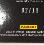 Panini America 2013-14 Crusade Basketball QC (73)