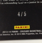 Panini America 2013-14 Crusade Basketball QC (76)