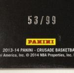 Panini America 2013-14 Crusade Basketball Teaser (15)