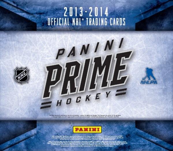 Panini America 2013-14 Prime Hockey Main