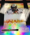 Panini America 2013-14 Score Hot Rookies Uncut Sheet Peek (27)