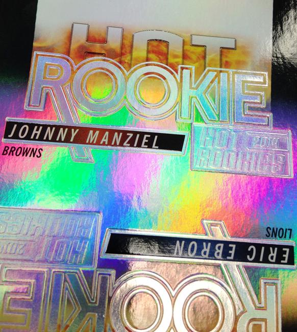 Panini America 2013-14 Score Hot Rookies Uncut Sheet Peek (30)