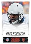 Panini America 2014 NFL Draft Greg Robinson Front