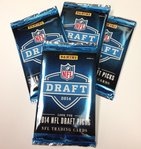 Panini America 2014 NFL Draft Packs Main