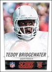 Panini America 2014 NFL Draft Teddy Bridgewater Front