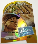 Panini America 2014 Prizm Baseball Golden Leather (6)