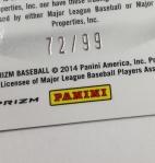 Panini America 2014 Prizm Baseball QC (117)