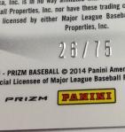 Panini America 2014 Prizm Baseball QC (122)