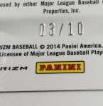 Panini America 2014 Prizm Baseball QC (125)