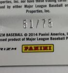 Panini America 2014 Prizm Baseball Teaser (58)